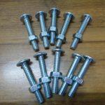 4.8級帶螺母的低碳鋼屋面螺栓