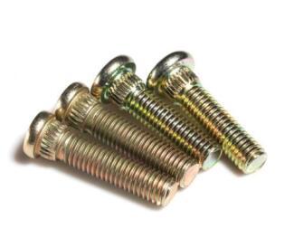 8.8級黃色鋅滾花螺栓