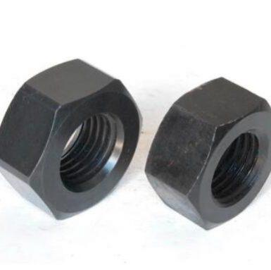 ASME標準六角螺母黑色氧化物