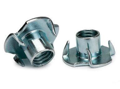 DIN1624四爪螺母碳鋼鋅