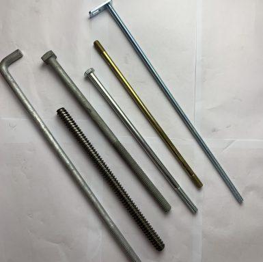 長度增加的螺栓或螺釘
