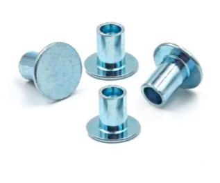 鋼扁頭鍍鋅半空心空心鉚釘