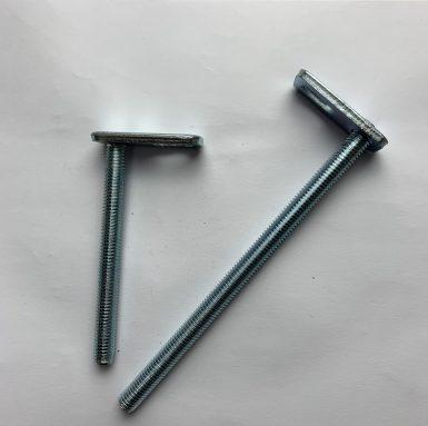 帶焊接板的T螺栓螺紋桿