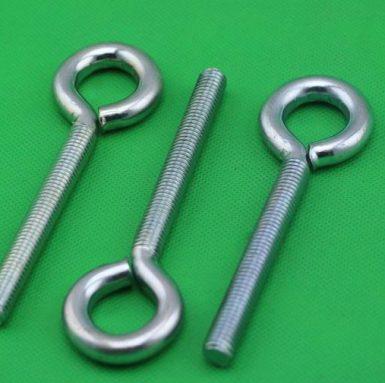 低碳鋼吊環螺栓鍍鋅白色