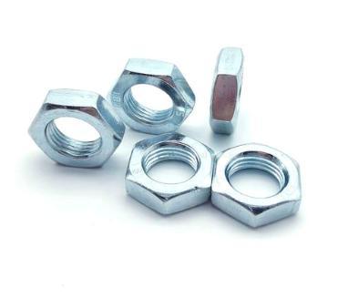 鍍鋅六角防鬆螺母din439